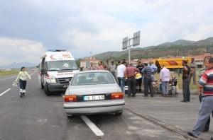 trafik kazası çorum osmancık (1)